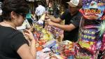 El Agustino: clausuran feria de pirotécnicos por infracciones - Noticias de productos pirotécnicos