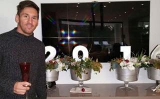 Facebook: el mensaje de Lionel Messi por año nuevo