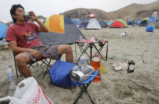 Así quedaron playas del sur tras fiestas de Año Nuevo [FOTOS]