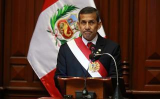 Humala observó tratado de extradición suscrito con Francia