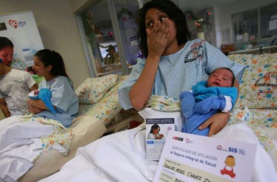 Treinta bebés nacieron en Maternidad en primeras horas del 2016