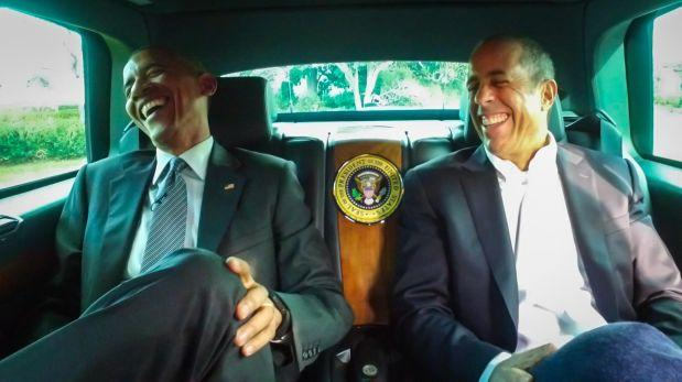 Hilarante entrevista de Jerry Seinfeld a Barack Obama [VIDEO]