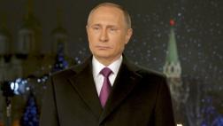 Putin resalta por Año Nuevo la lucha contra el terrorismo