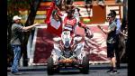 Dakar 2016: Peruanos estuvieron en la partida simbólica - Noticias de rafal sonik