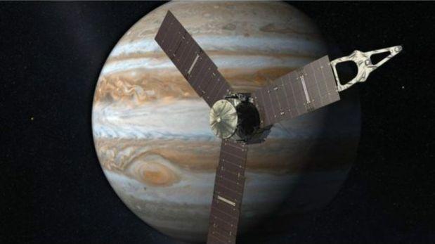 El hombre regresa a Júpiter por segunda vez.(Foto: NASA)