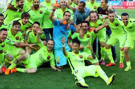 Neymar al Balón de Oro: diez imágenes del 2015 del brasileño