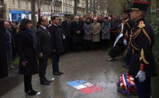 Francia conmemora atentados de enero de 2015 [VIDEO]