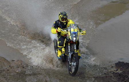 Alexis Hernández es el peruano mejor ubicado de la carrera. (Foto: Prensa Alexis Hernández)