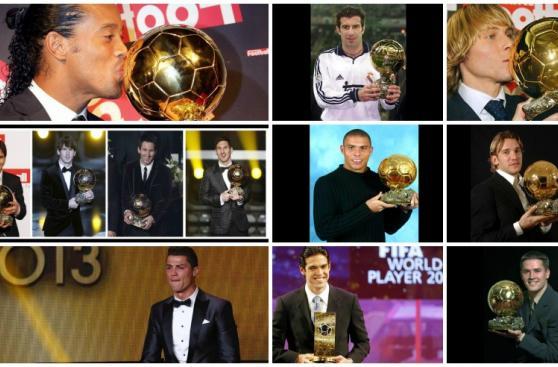 Balón de Oro: recuerda a los ganadores del nuevo milenio