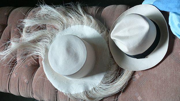 Los sombreros son elaborados en Pile pero los detalles se afinan en  Montecristi. (Foto 7b86f578eaf