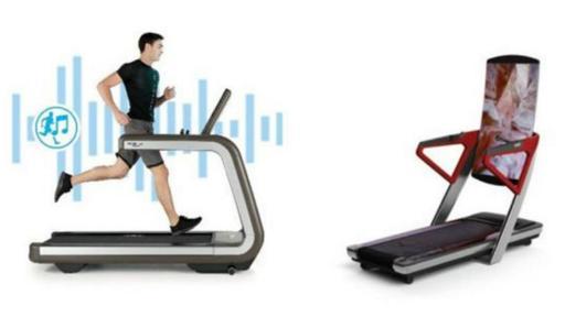 La conectividad en las máquinas de ejercicio es tendencia en la feria tecnológica. (Foto: Technogym e iFit)