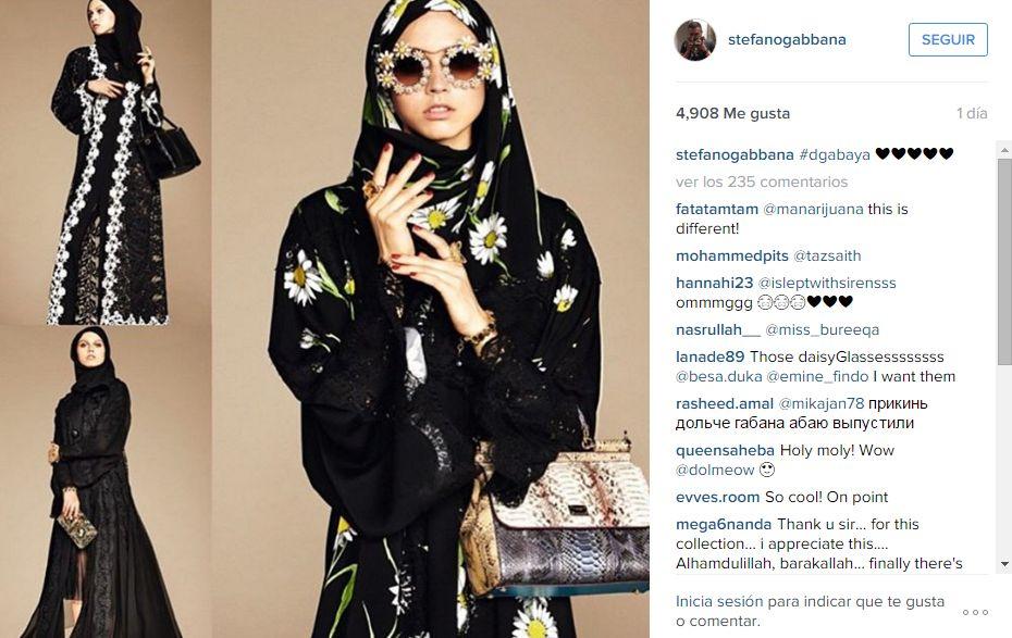 [Foto] Dolce & Gabana presenta su primera colección para musulmanas