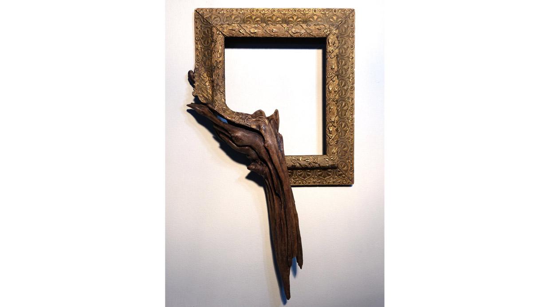 [Foto] Estos marcos fusionan lo elegante y rústico de la madera