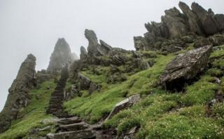 Isla irlandesa aprovecha 'Star Wars' para hacer negocios