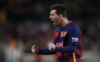 Lionel Messi anotó golazo de tiro libre para el Barcelona