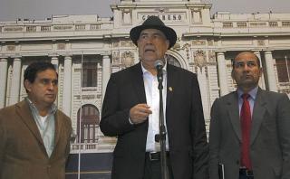 """""""No se puede limitar a Humala cuando critica la corrupción"""""""
