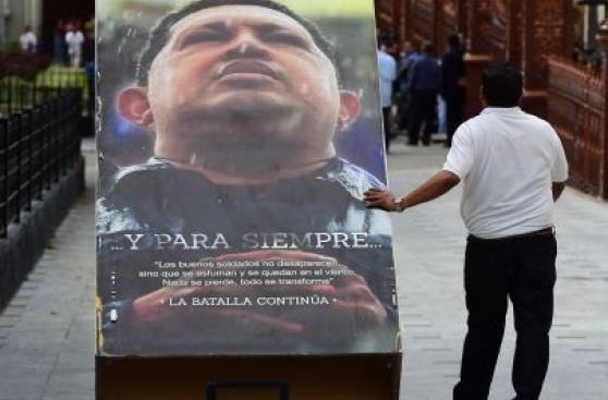 Venezuela: retiran imágenes de Chávez de la Asamblea Nacional