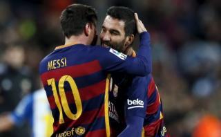¿Qué le dijo Messi a Arda Turan luego de marcar golazo?