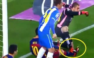 Lionel Messi: ¿este pisotón causó pelea en vestuarios? [VIDEO]
