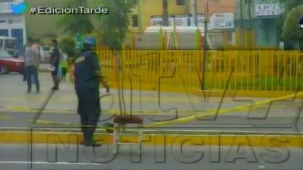 Breña: hallan explosivos artesanales frente a Hospital del Niño
