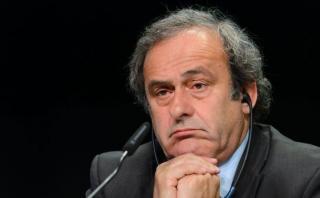 Michel Platini retiró su candidatura a la presidencia de FIFA