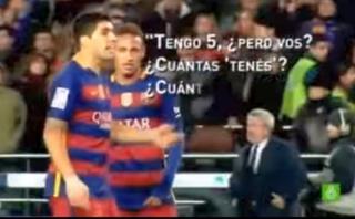 Así provocó Luis Suárez a los jugadores del Espanyol [VIDEO]