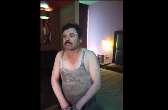 Así luce 'El Chapo' Guzmán tras ser recapturado en Sinaloa