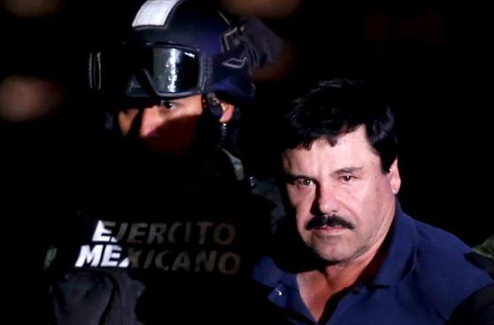 'El Chapo' Guzmán: así fue presentado y trasladado a la prisión