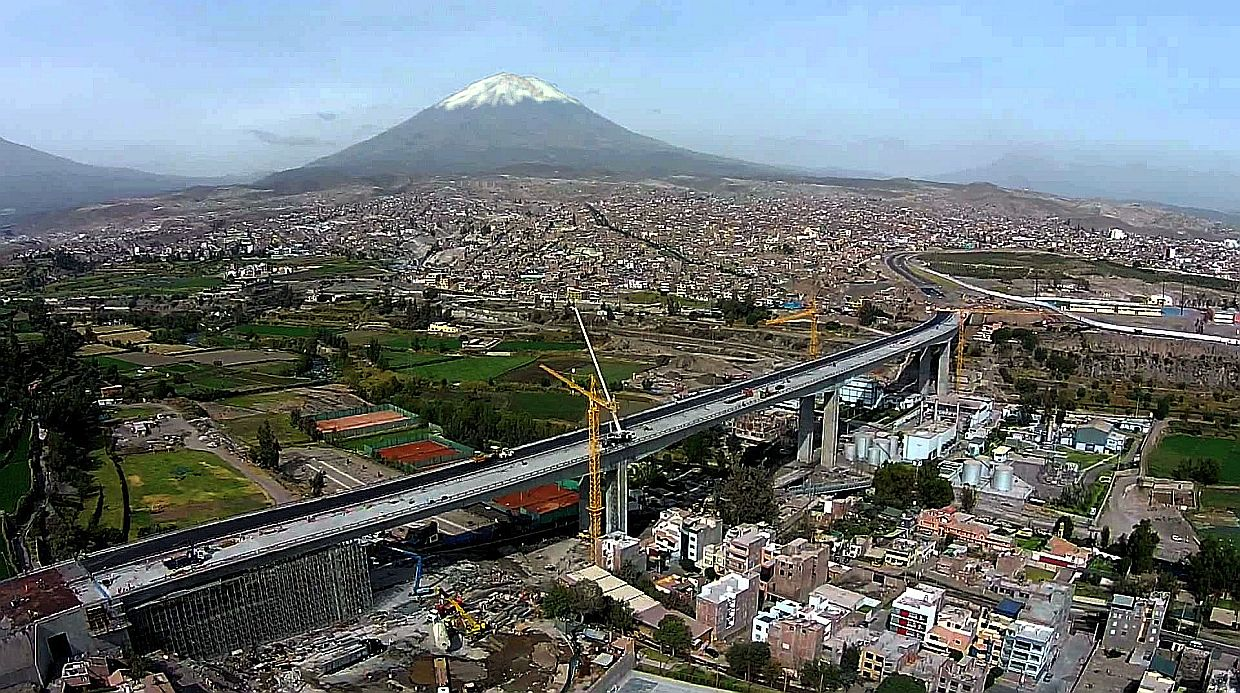 Infrastructure in Arequipa