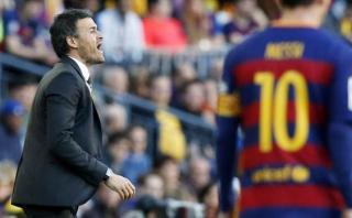 """Luis Enrique atribuyó éxito de Lionel Messi a su """"personalidad"""""""