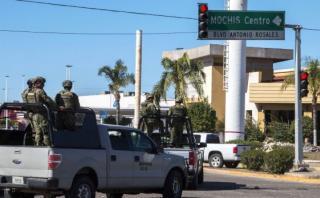 Fuerzas mexicanas custodian zona donde fue capturado 'El Chapo'