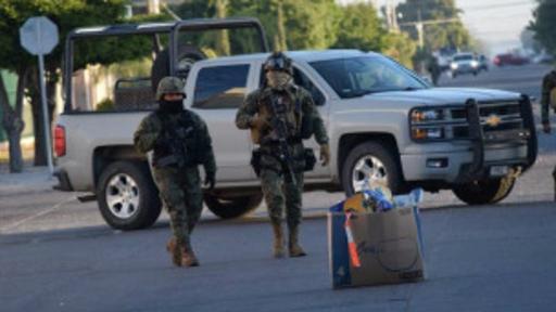 En la captura de El Chapo participaron marinos y policías federales.