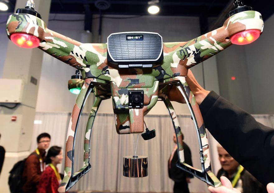 Los mejores drones presentados en la feria tecnol gica ces for Fiera tecnologica milano 2016