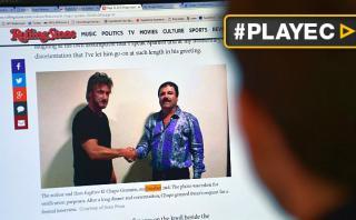 Sean Penn entrevistó a 'El Chapo' en la clandestinidad