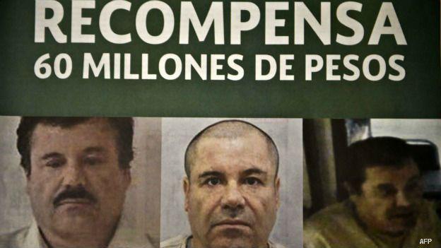 México ofrece una recompensa histórica por la recaptura de El Chapo Guzmán. (Foto: AFP)
