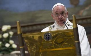 El papa Francisco pide a Europa que siga acogiendo a refugiados