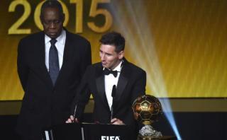 Lionel Messi mencionó a Cristiano tras ganar el Balón de Oro