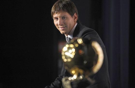 Lionel Messi y los cinco Balones de Oro que ganó en su carrera