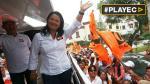 """Keiko Fujimori inscribió su plancha y presentó """"Plan Perú"""" - Noticias de jurado electoral especial de lima este"""