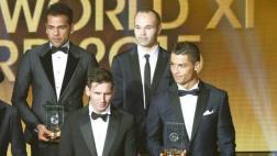 ¿Por qué discutieron Cristiano y Alves en el Balón de Oro?