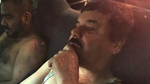 Guzmán fue capturado el pasado viernes por las autoridades mexicanas.
