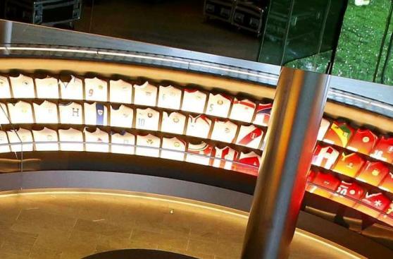 Museo FIFA: la camiseta de Perú ya se luce en Zúrich [FOTOS]