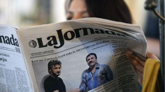 Desde que se supo del encuentro entre El Chapo Guzmán y Penn, buena parte de la atención se enfocó en cómo el actor se contacto con el narco. (Foto: AFP)
