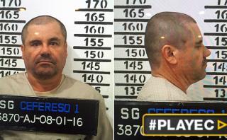 El 'Chapo Guzmán' rapado, sin bigote y fichado de nuevo [VIDEO]