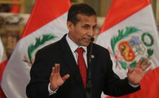 Ollanta Humala: yo no he infringido el principio de neutralidad