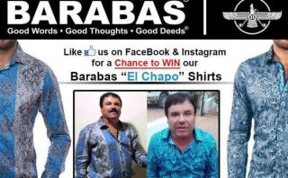 La camisa de 'El Chapo' Guzmán se convierte en la más buscada
