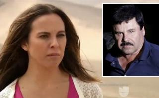 Kate del Castillo se mostró nerviosa al hablar de 'El Chapo'