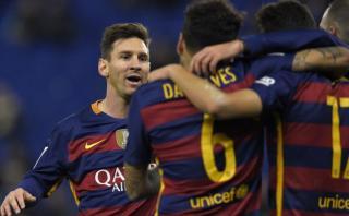 Lionel Messi y una genial asistencia para gol de Munir [VIDEO]