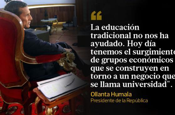 Ollanta Humala: las frases más destacadas de nueva entrevista
