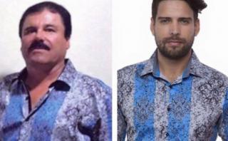 """Marca aprovecha foto de """"El Chapo"""" para publicitar sus prendas"""